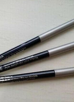 Автоматический карандаш для глаз clinique quickliner 01 intense black