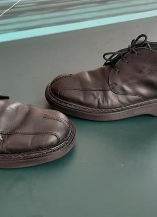 Кжаные мужские ботинки 44-44.5р