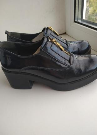Лаковые туфли molly bessa