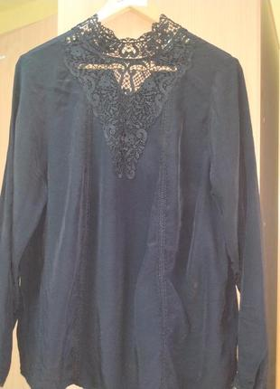 Блуза натуральная бренд marks@spencer