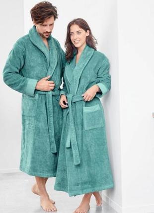 Добротный немецкий махровый халат тсм tchibo. оригинал !
