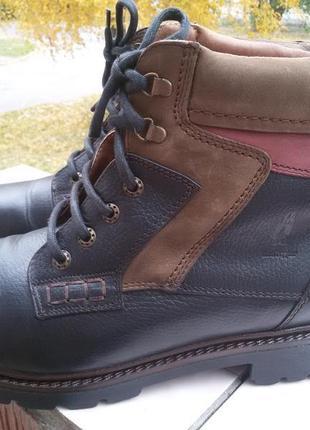 Кожаные зимние сапоги ботинки hush puppies twin peaks германия