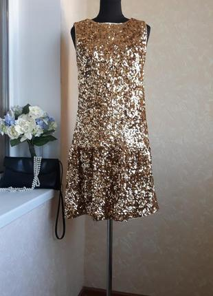 Яркое нарядное платье marks&spencer