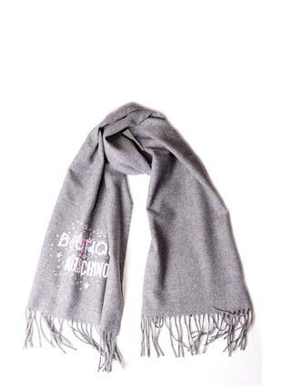 Женский шарф moschino boutique