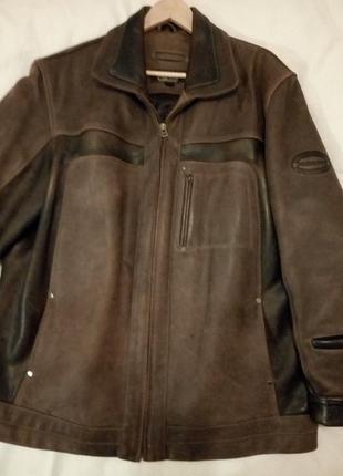 Куртка мужская,натуральная кожа,большой размер,производство-турция