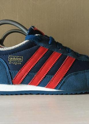 Кроссовки adidas originals dragon junior sneaker blue оригинал