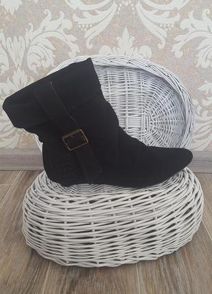 Крутые кожанные демисезонные ботиночки 40 р