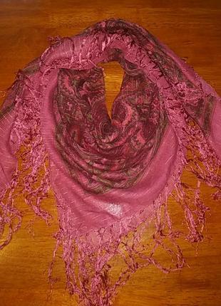 Платок, палантин, накидка, шарф