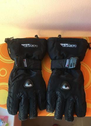 Сноуборд рукавиці level із захистом biomed gore-tex