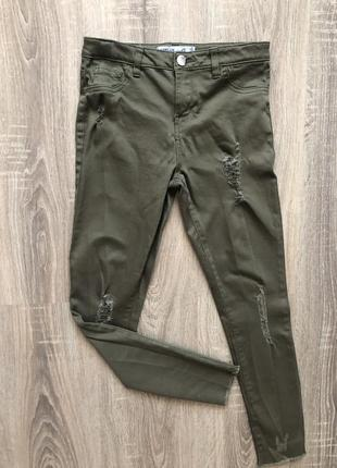Джинсы, штаны,/ джинси, штани, 10-11р, 146см, denim co
