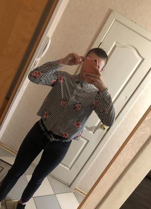 Рубашка, укороченная рубашка