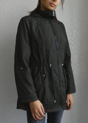 Трендовая куртка парка на подкладке