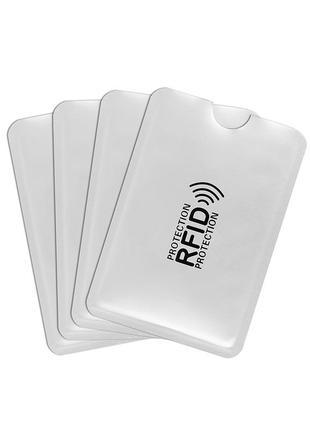 Чехол кошелек для карт с защитой от размагничивания и для безопасности