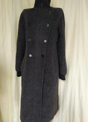 Итальянское стильное пальто премиум класса лёгкое мягкое и незаменимое