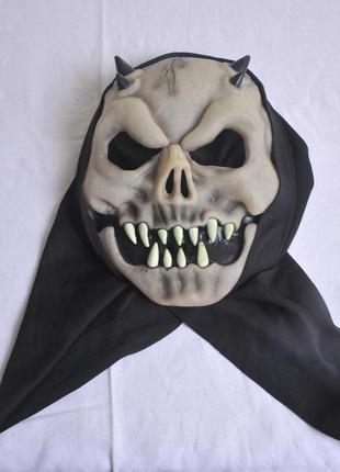 Супер маска на хэловин!!!!!!