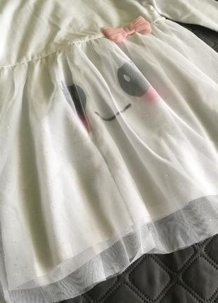 Милое платье от h&m 12-18 m