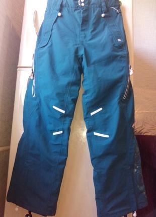 Штаны лыжные, сноубордические женские roxy. австралия. раз.  xl. оригинал