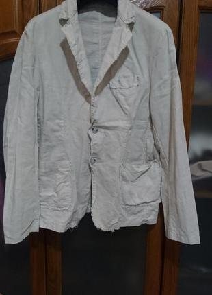 Пиджак лен размер 48-50 наш