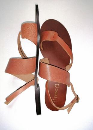 Кожаные сандалии ❤️босоножки
