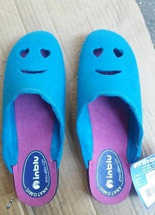 Тапки, тапочки, домашняя обувь. inblu
