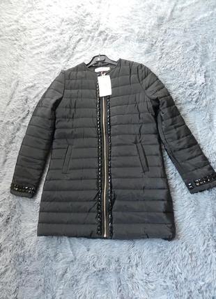 ✅ пальто куртка евро зима с камнями