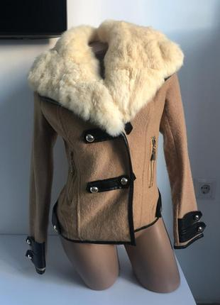 Дубленка с натуральным мехом куртка курточка