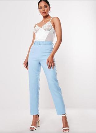 Новые брюки с поясом высокая талия missguided