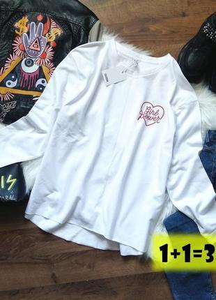 Colloseum тренд стильный свитшот s-m белый свитер свободный оверсайз джемпер пуловер