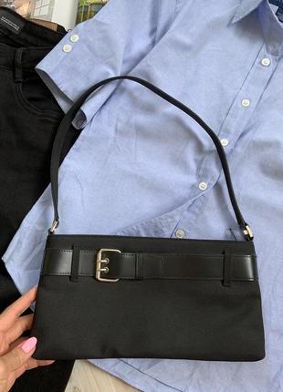 Шикарная сумка на короткой ручке