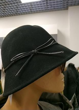 Шляпка betty jackson black шерсть