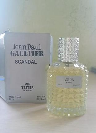 Вип тестер jean paul gaultier scandal 60 мл