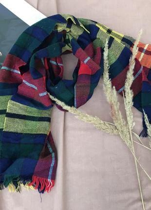Чудовий шарф в осінніх кольорах