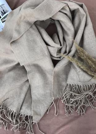 Шикарний шерстяний шарф