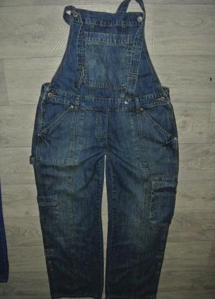 Комбинезон джинсовый большой размер xxl 16р. 33-34р