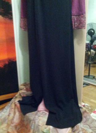 Обалденное платье в пол с капюшоном на стройняшку,44-46разм2 фото