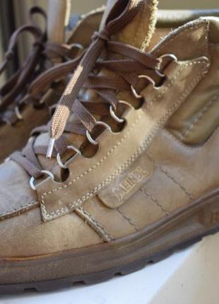 Ортопедические кожаные ботинки демисезонные meindl