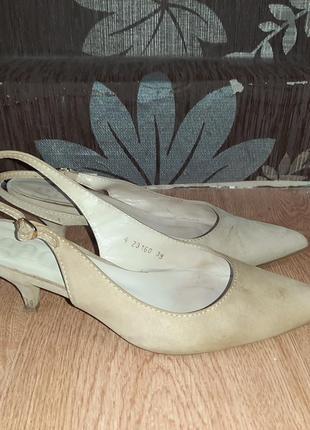 Стильні замшеві туфлі  gadea