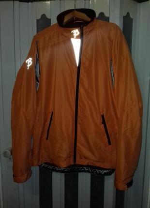 Лыжная, беговая, разминочная куртка bjorn daehlie( бьерн дэли).