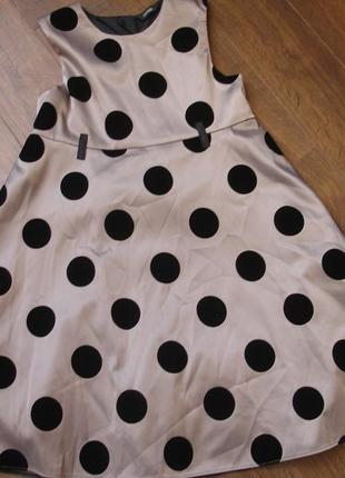 Фирменное george шикарное платье девочке 9-10 лет новое состояние