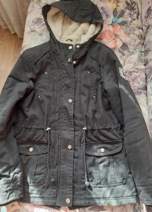 Куртка парка pimkie р. 38-40 100 % cotton