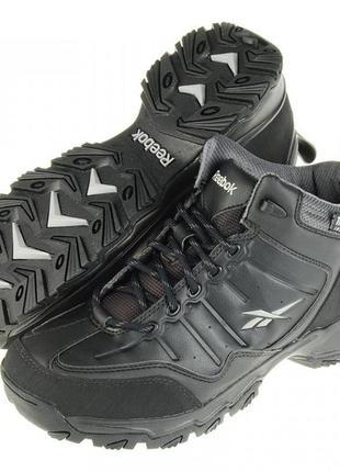 Ботинки теплые reebok rbk rivlanse black