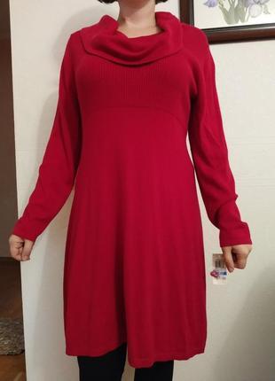 Нове комфортне тепле плаття натуральний склад