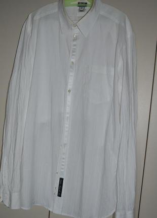 Рубашка белая с шелковыми елементами. dolce & gabbana