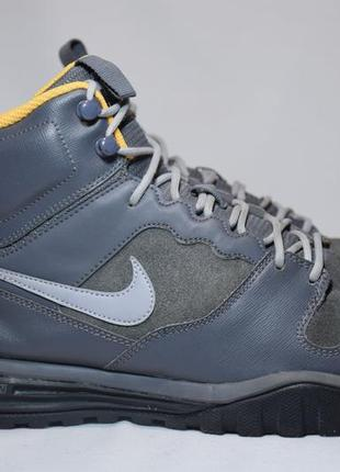 Кроссовки nike dual fusion hills mid leather ботинки зимние мужские оригинал 44р/28.5см