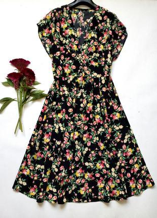 Лёгкое платье на пуговках халат 12