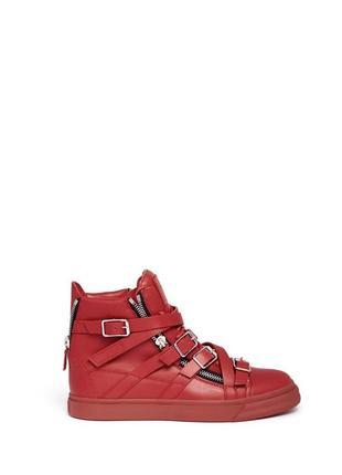 Новые кожаные ботинки giuseppe zanotti, оригинал, натуральная кожа
