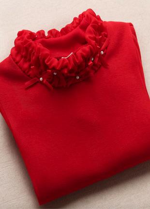 Нарядные теплые гольфы на меховушке р. 110-146 розовая серая, красная