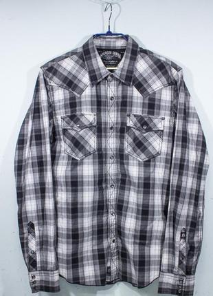 Рубашка мужская tommy hilfiger denim размер l