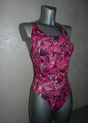 36-38/xs-s maru,оригинал!розовый яркий купальник для плавания,для бассейна, новый