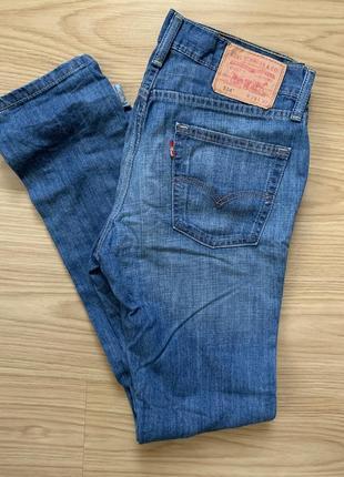 Синие джинсы levi's 514